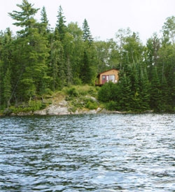 cabinonlakeinwoods