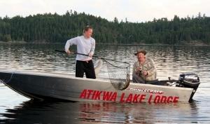 landing-a-trout